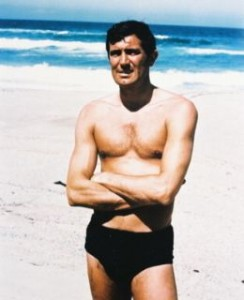 george lazenby chest